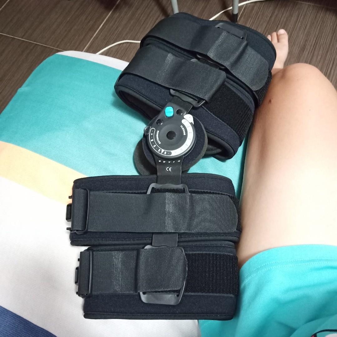 #輔具 膝支架  十字韌帶術後專用