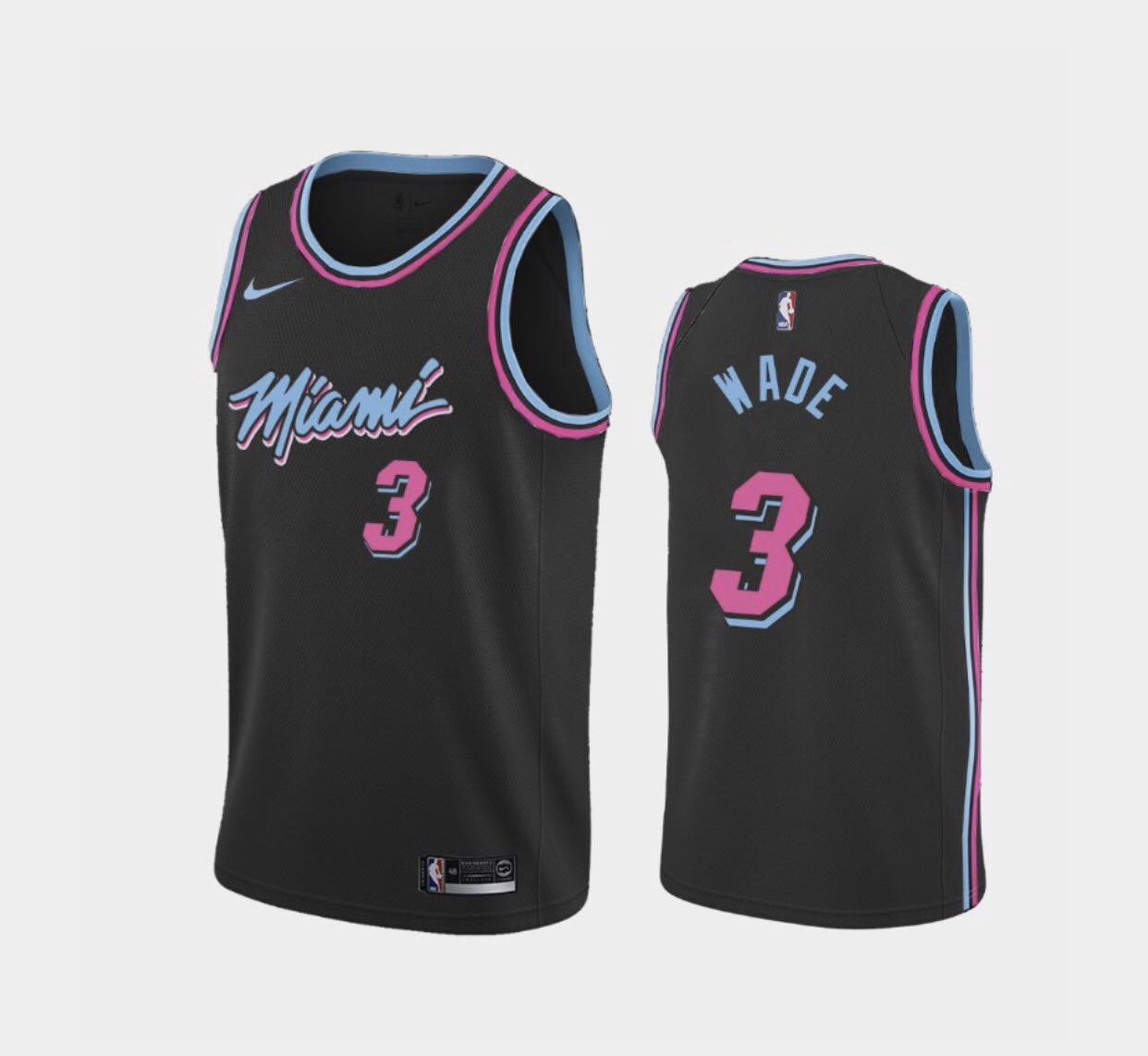 徵收 NBA Miami Heat Dwyane Wade City Edition Jersey, 運動產品 ...