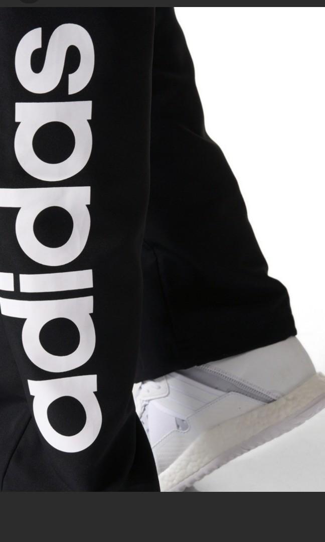全新adidas黑色運動長褲中碼