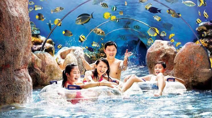 Adventure Cove Waterpark Singapore - 1 Day Pass