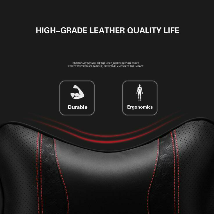 ar leather headrest manufacturers Elastic cotton pillows Audi BMW Land Rover Volvo and other applicable car standard