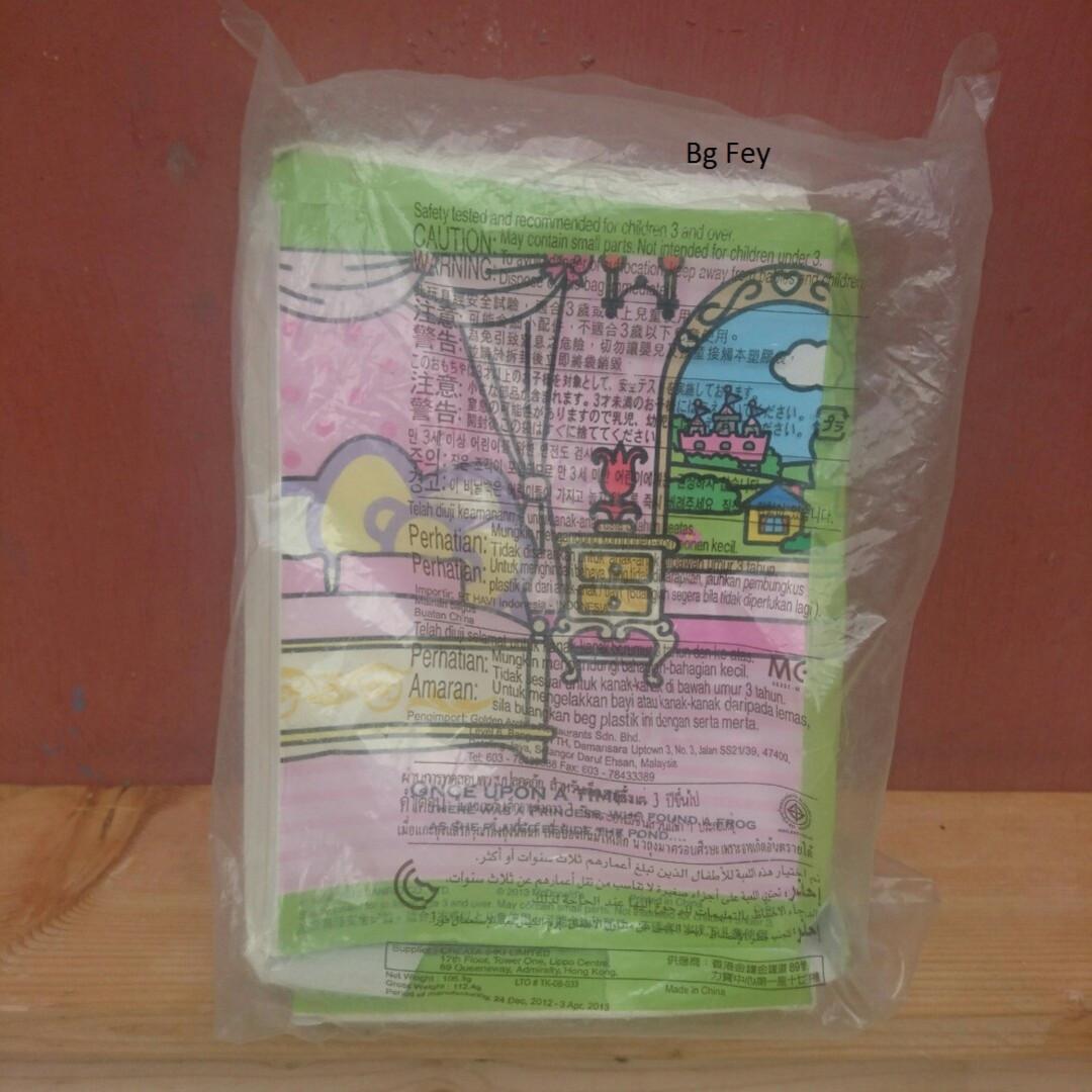 Boneka Hello Kitty Fairy Tales The Frog Prince Happy Meal Mc Donald 2013 - Segel