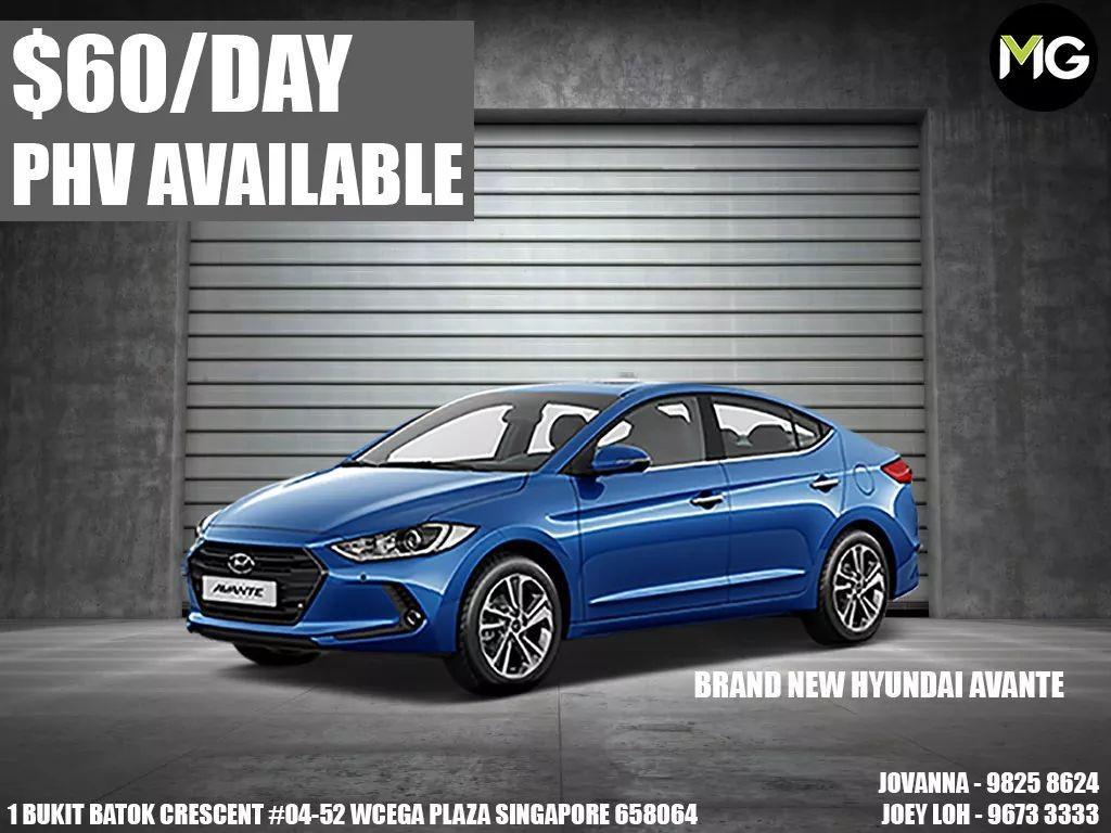 Brand New Hyundai Avante For Rent! PHV READY