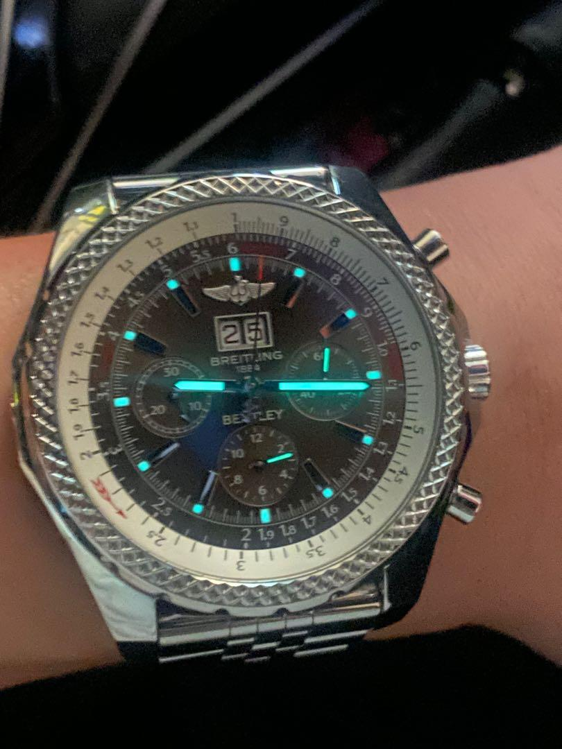 Breitling Bentley 6 75 Fire Sale Luxury Watches On Carousell