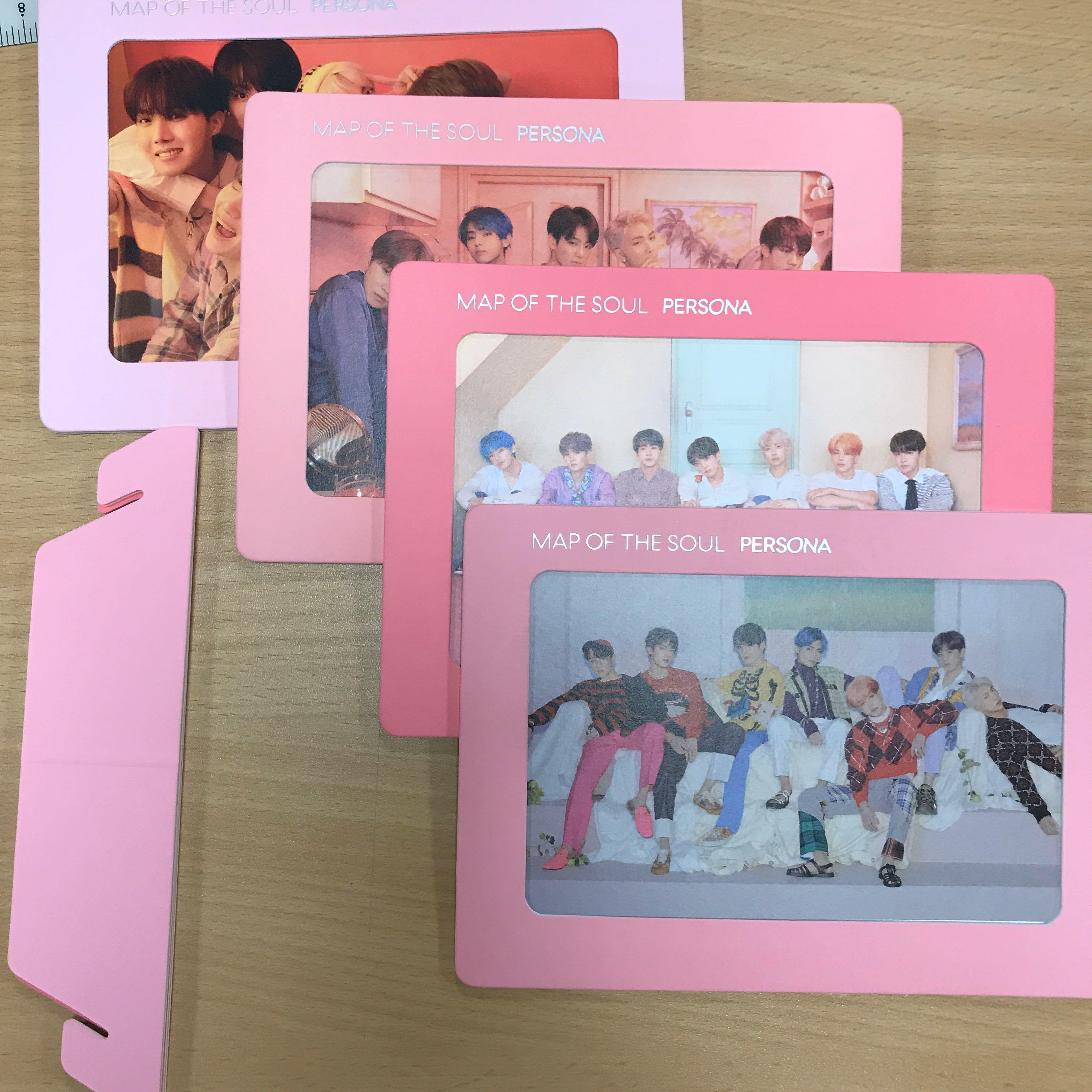 BTS MOTS persona frame official photo frame & poster