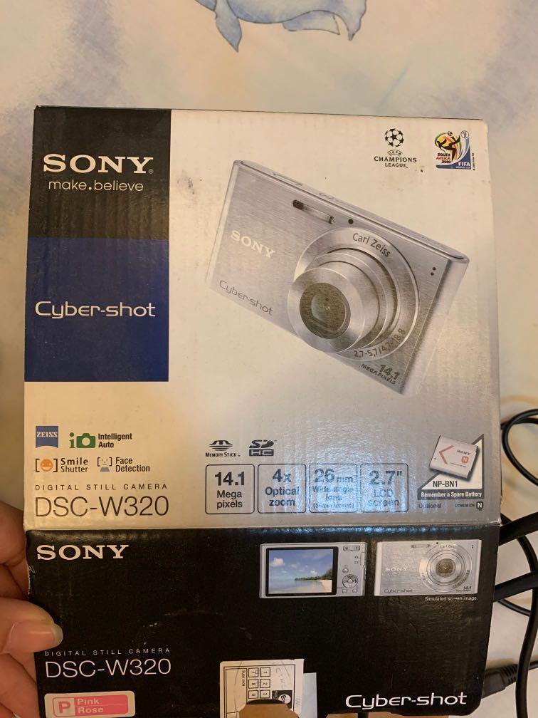 Camera Sony DSC-W320