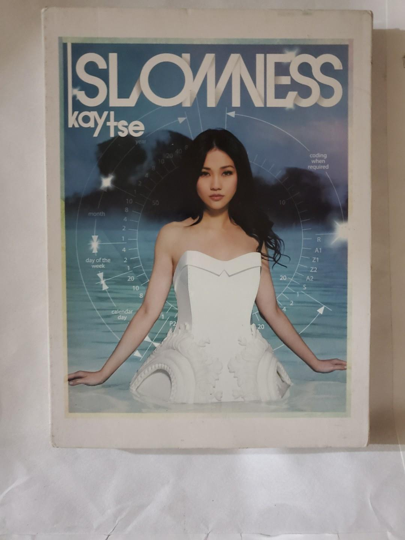 CD + DVD 謝安琪 Slowness