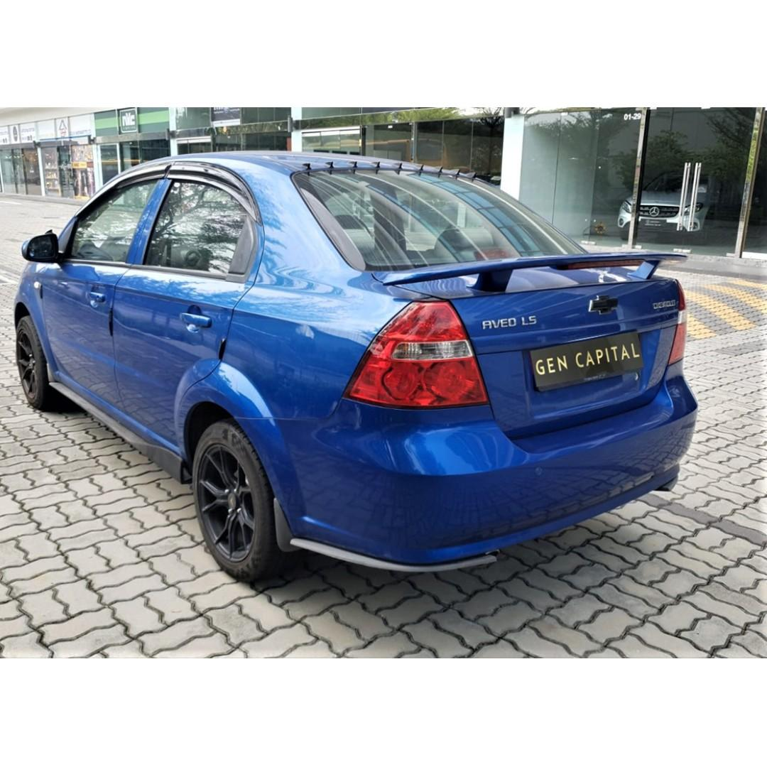 Chevrolet Aveo - Many ranges of car to choose from, with very reliable rates!