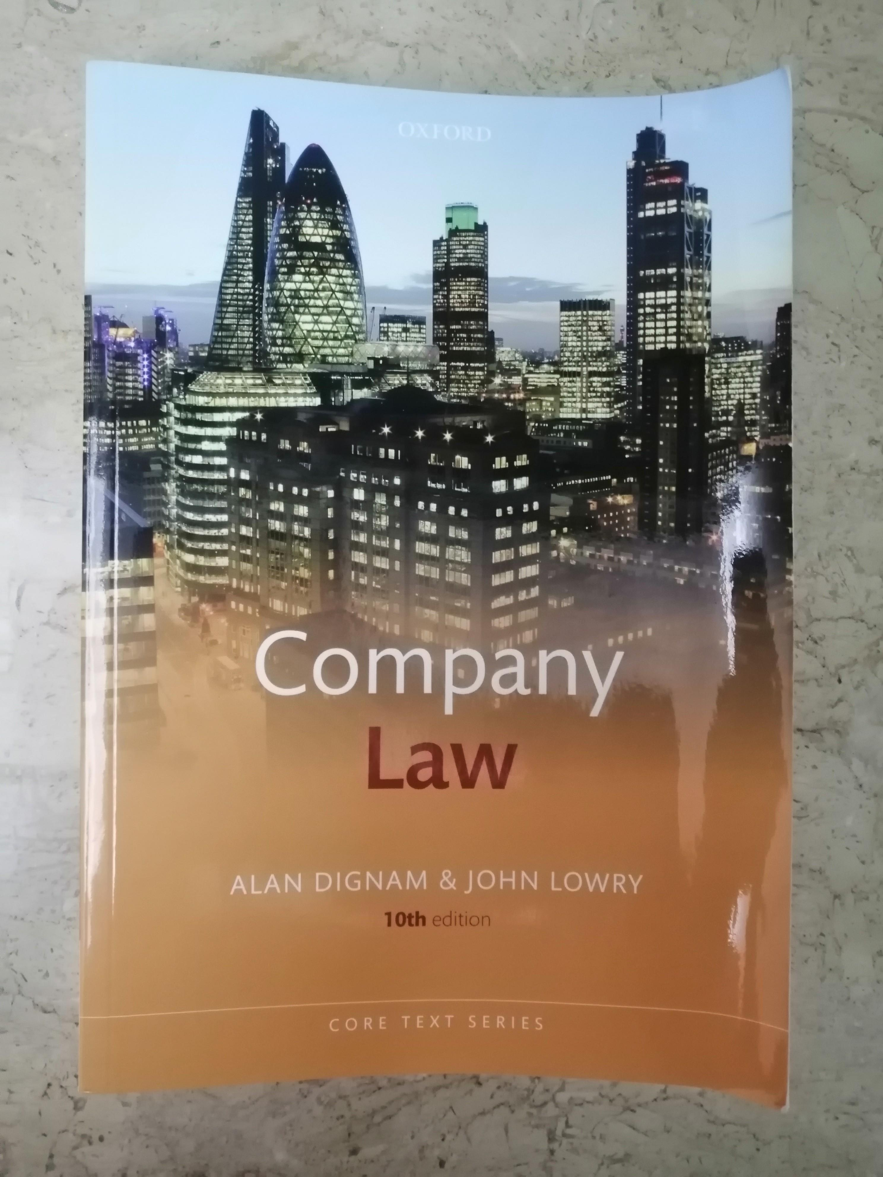 Company Law Textbooks