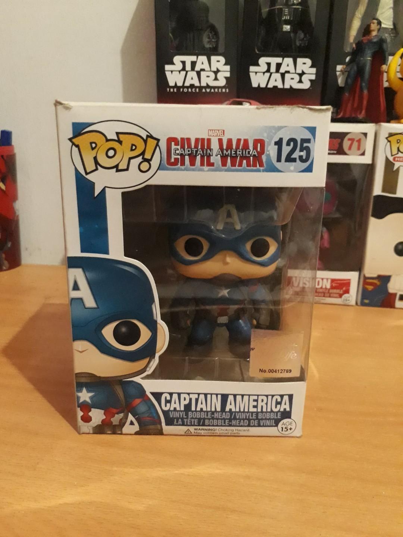 Funko Pop Captain America Civil War #mauovo