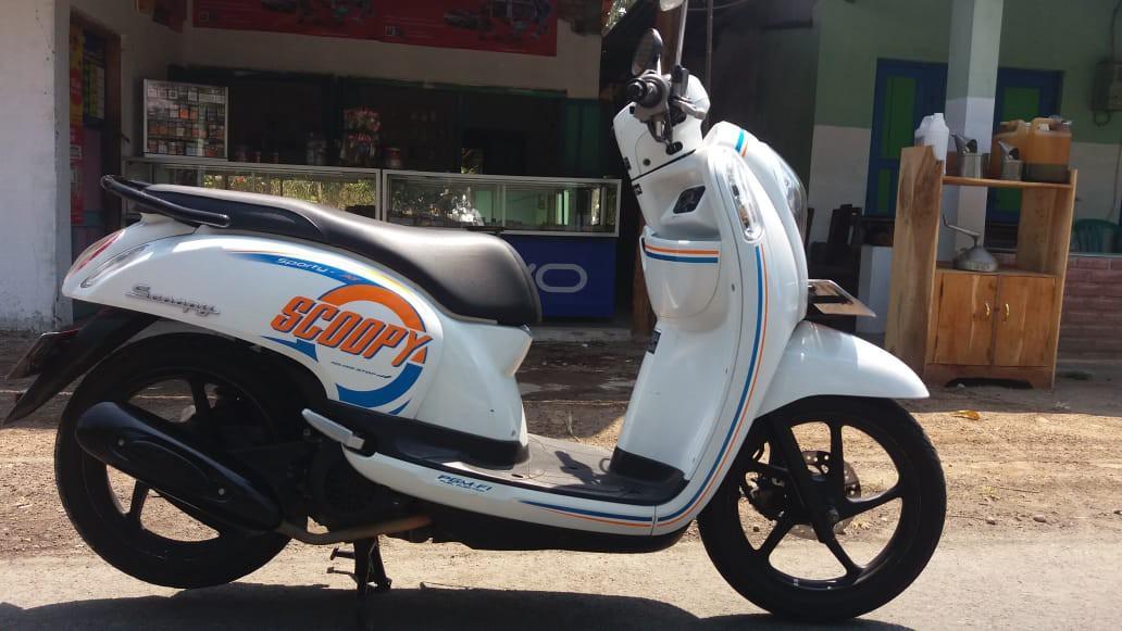 Honda Scoopy tahun 2016