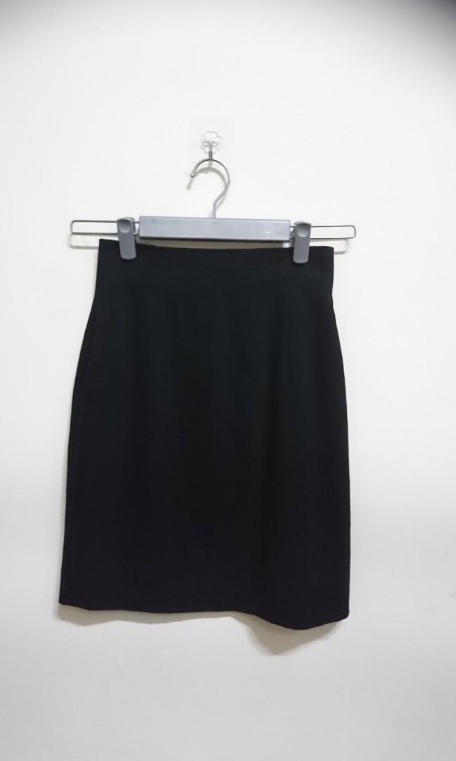 1532時尚hsueh fang 黑色典雅窄裙#全館三件免運費#