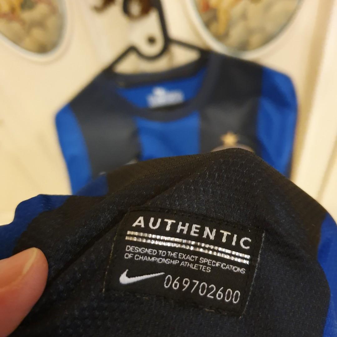 Kaos Jersey Bola Nike 'InterMilan' (100% Original)