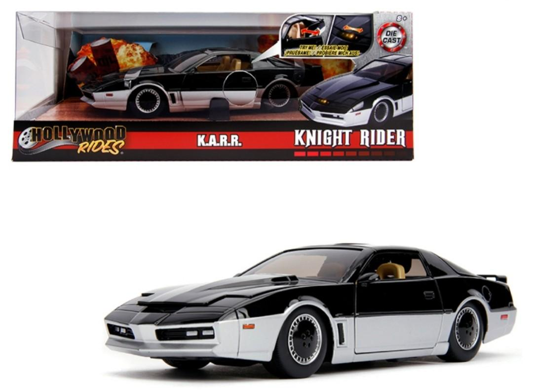 """K.A.R.R. Black and Silver with Light  """"Knight Rider"""" (1982) TV Series"""