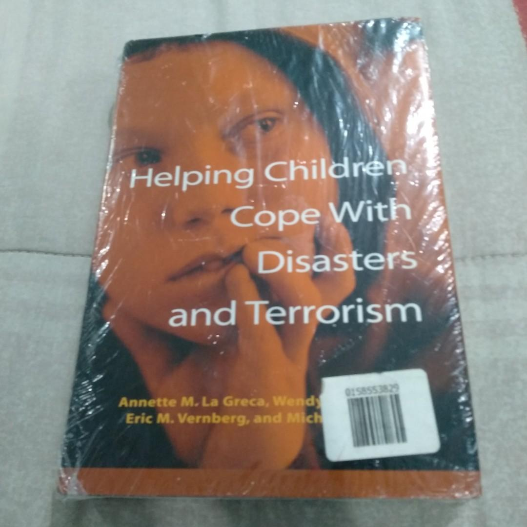 Legit Brand New Sealed Helping Children Cope With Disasters And Terrorism Hardbound Book