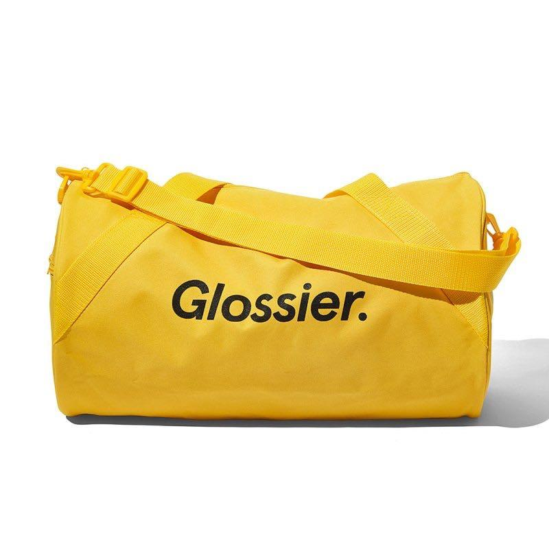 Limited Edition Glossier Duffle Bag - Sunshine Yellow