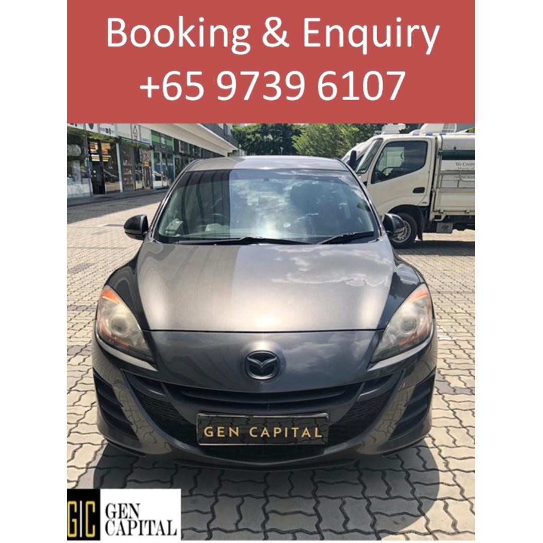 Mazda 3 - Immediate collection at your preferred rental rates!!