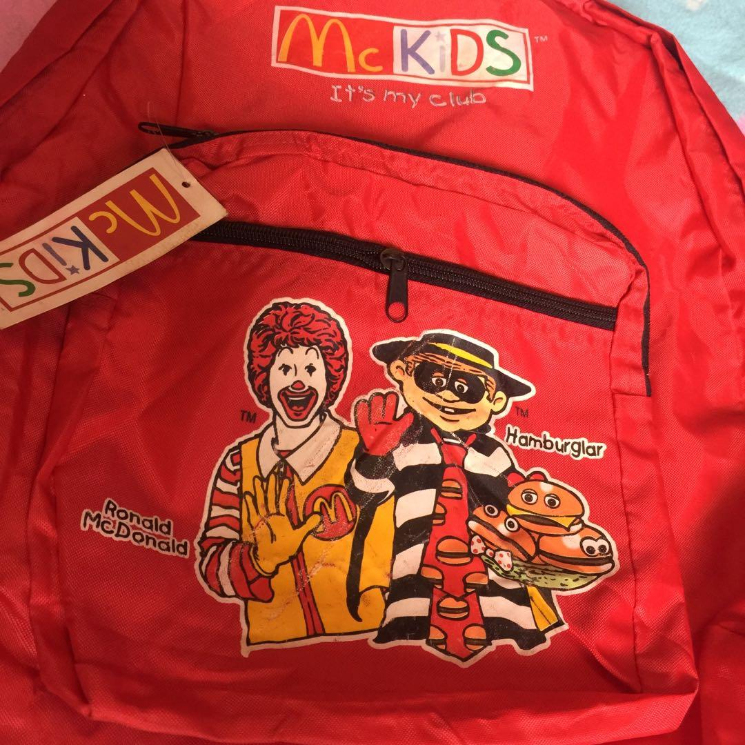 Mcd bagpack