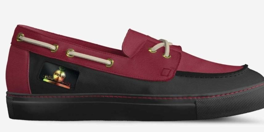 MODEL B003  CLASSIC BOAT SNEAKER By Randy Betzold (US) Designs By You CUSTOM CRAFTED  MADE IN ITALY