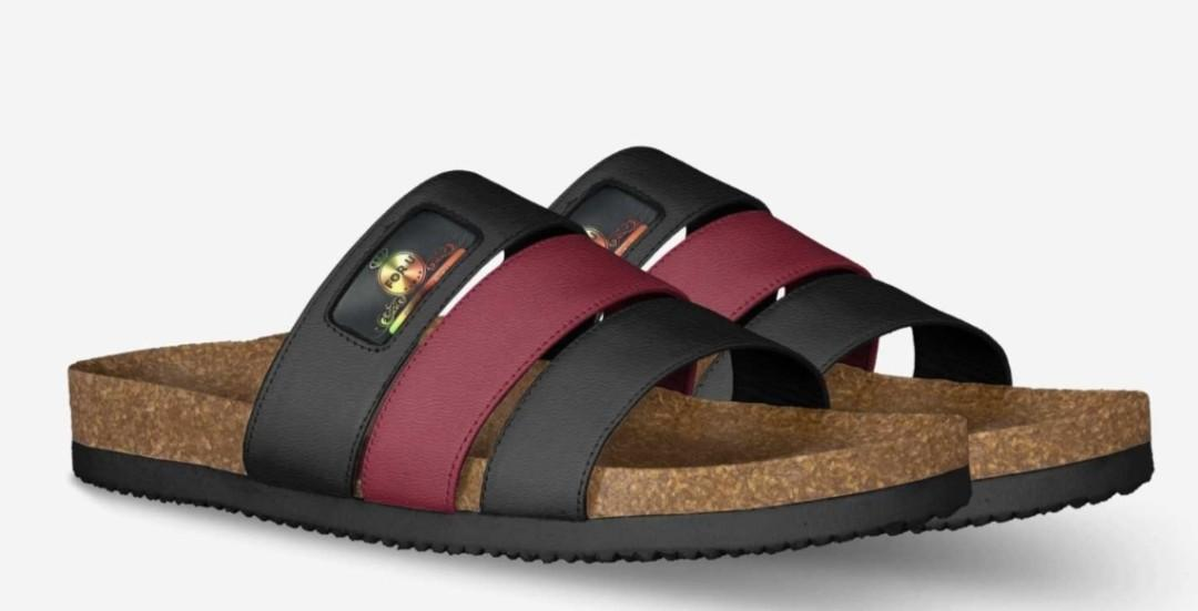 MODEL C008 STRIPE SANDAL By Randy Betzold (US) Designs By You CUSTOM CRAFTED MADE IN ITALY