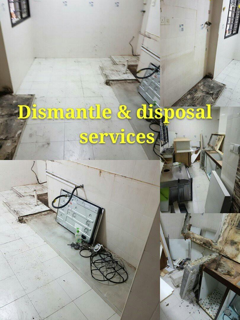 Movers/dismantle & disposal