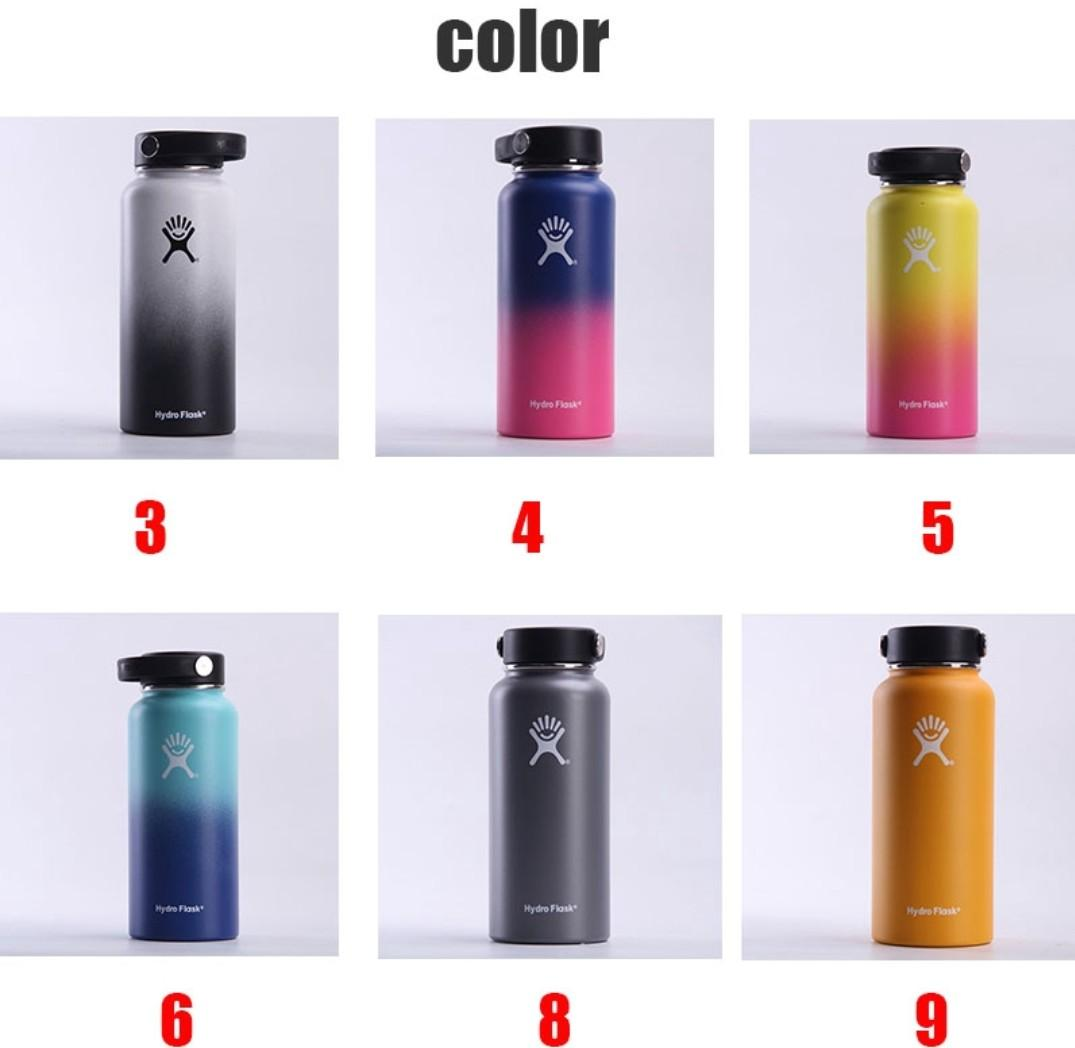 Many Colours ! New Hydro Flask! 18/32/40 Oz