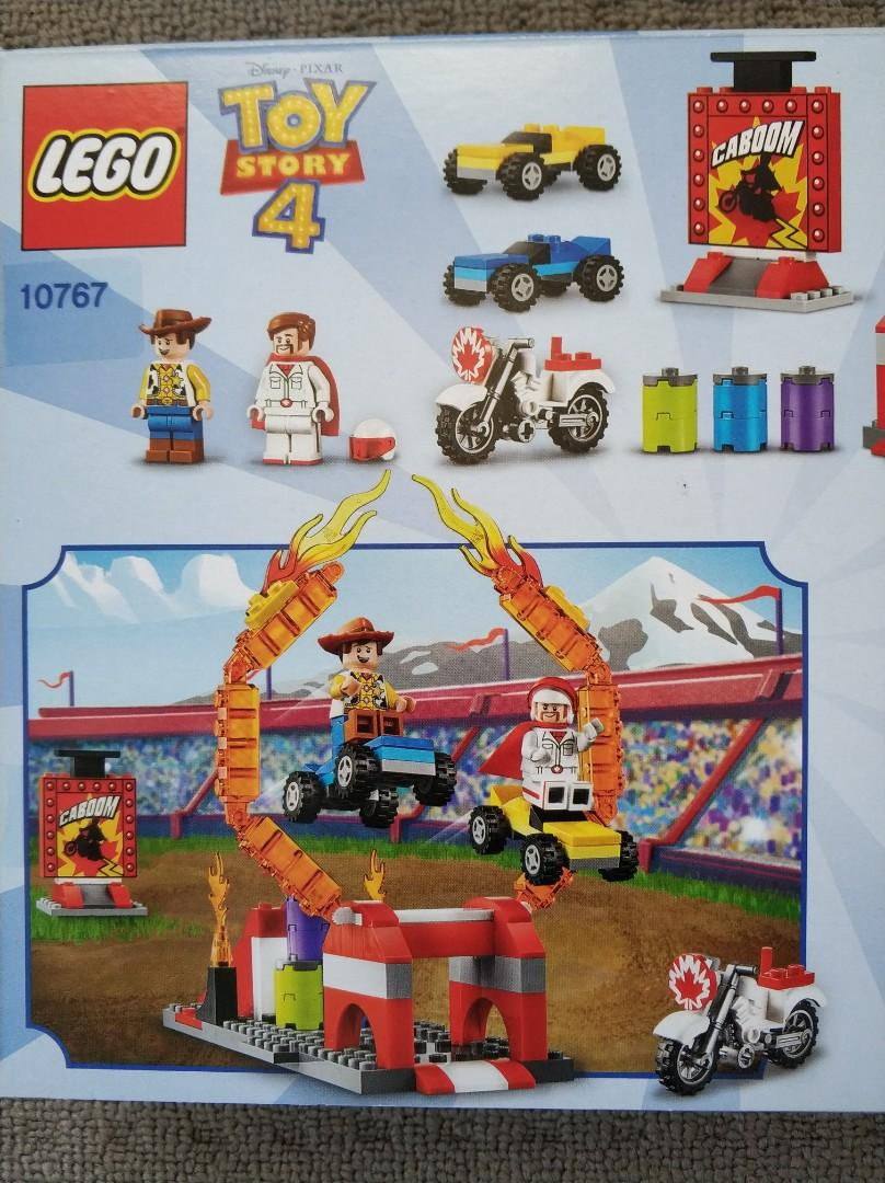 New Lego Toy Story 4 Duke Caboom's Stunt Show 10767