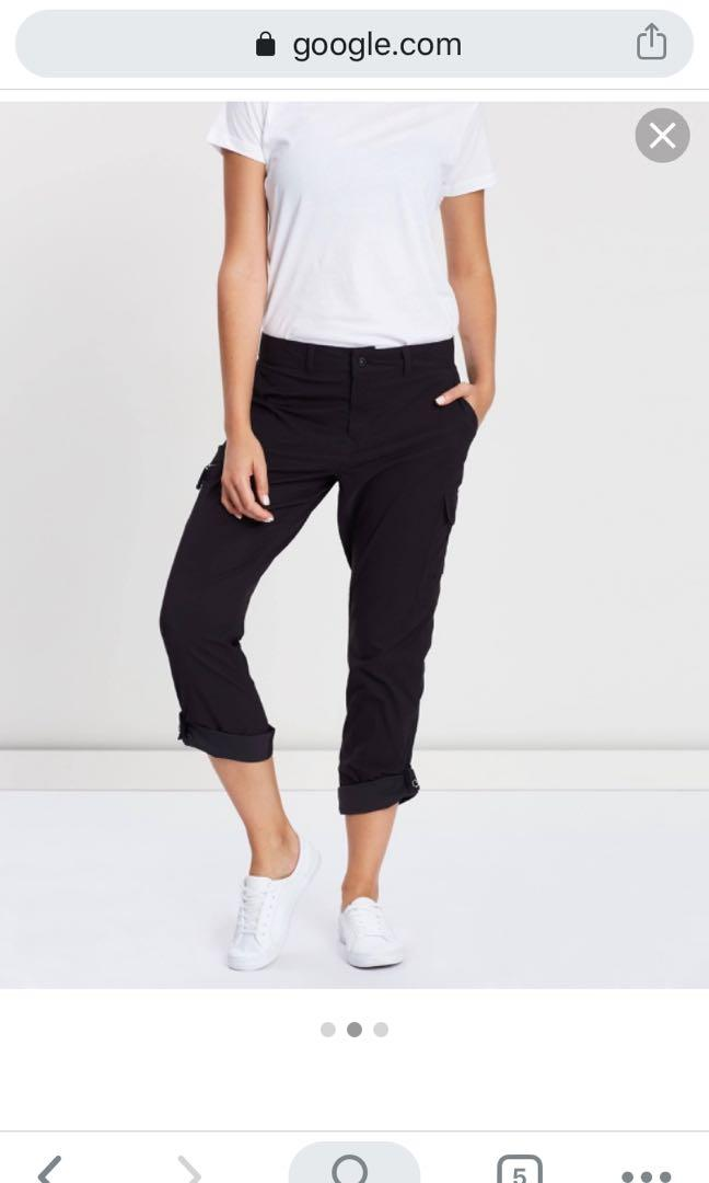 North Face Wandur Hike women's pants - BLACK US10 regular fit