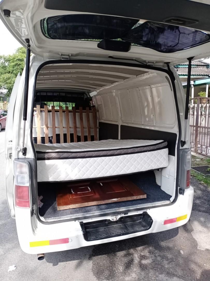 Perkhidmatan sewa van hantar brg...delivery ,mover.
