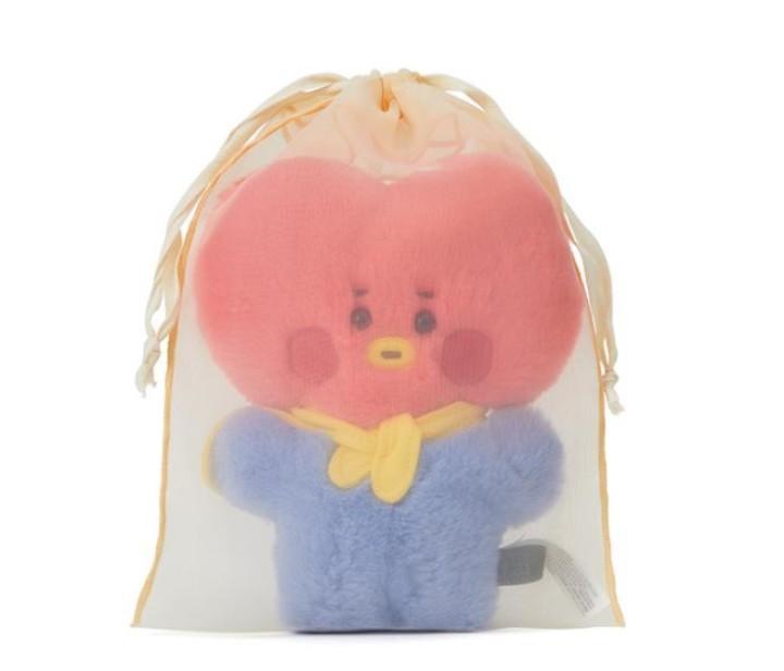 (PO) Official BT21 Baby Standing Doll (Flatfur Series)