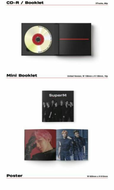 (Domestic/korean ver.) SUPER M - SUPER M 1st MINI ALBUM