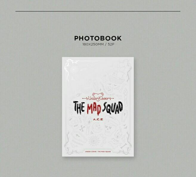[PRE-ORDER:SEALED] A.C.E - UNDER COVER : THE MAD SQUAD