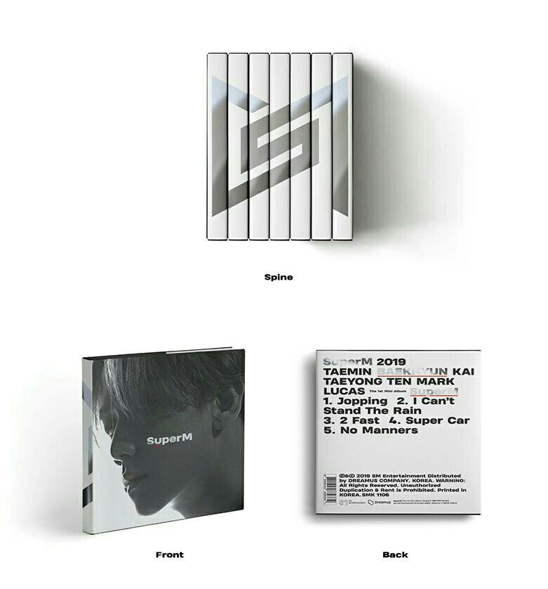 [PRE:ORDER-SEALED]-can pick version SuperM - SuperM