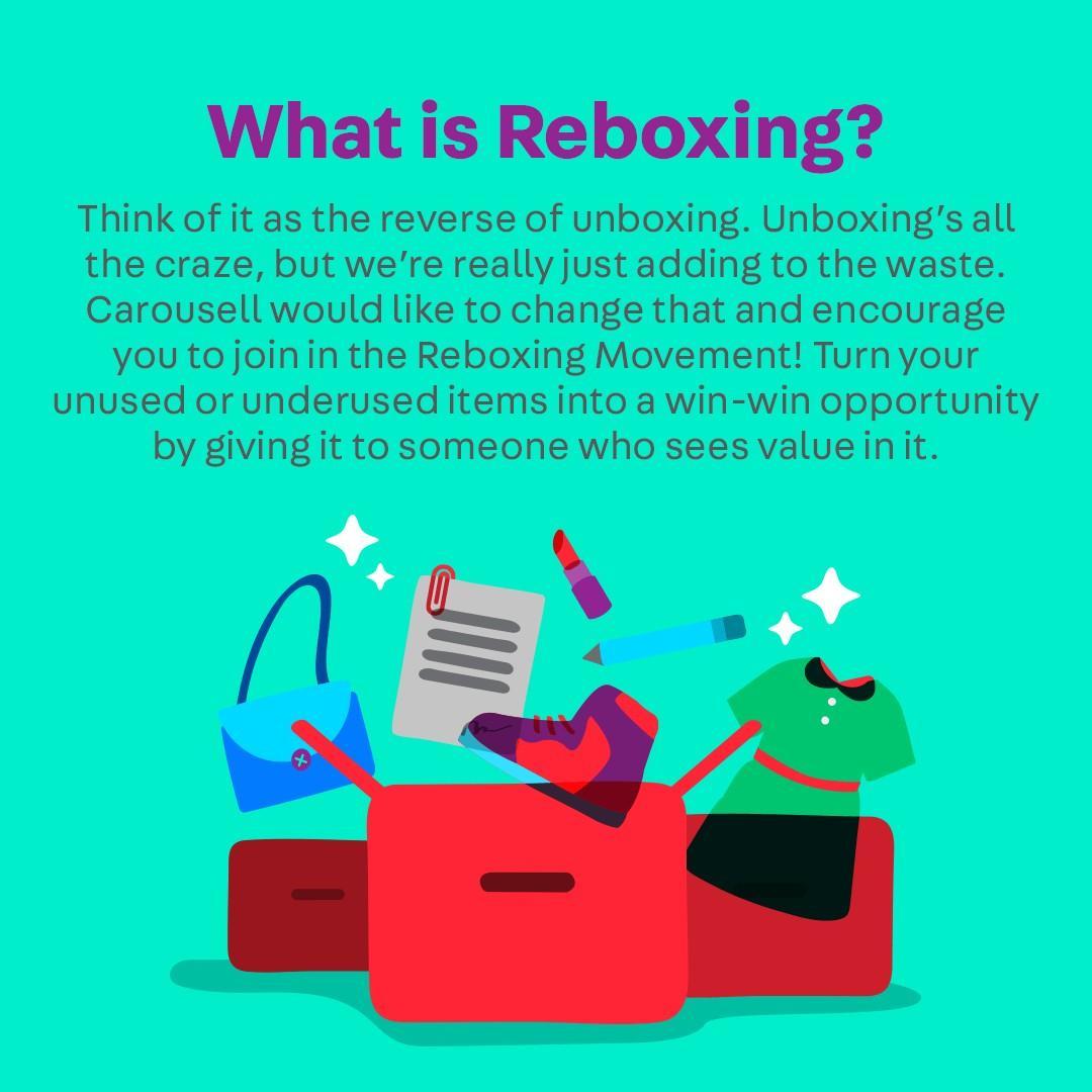 Rebecca Tan does Reboxing
