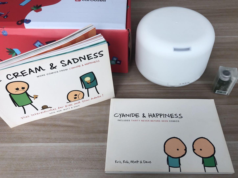 [Giveaway Closed] Sara Wee's Box