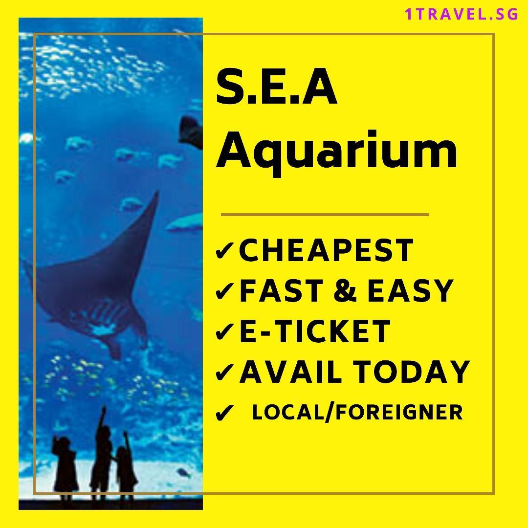 S.E.A Aquarium Singapore E-Ticket