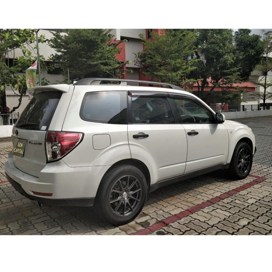 Subaru Forester 2.0A - Many ranges of car to choose from, with very reliable rates!