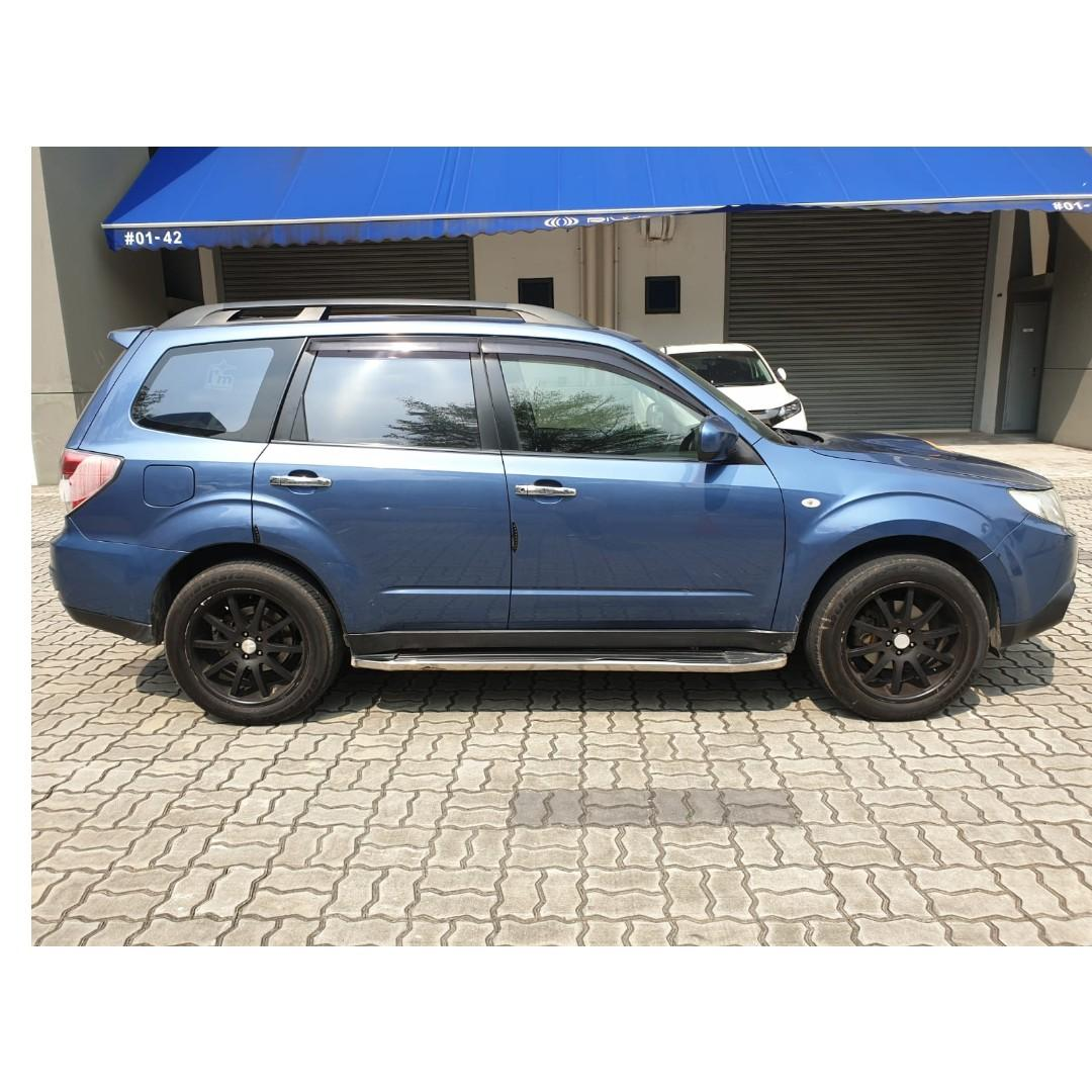 Subaru Forester 2.0A BLUE - Many ranges of car to choose from, with very reliable rates!