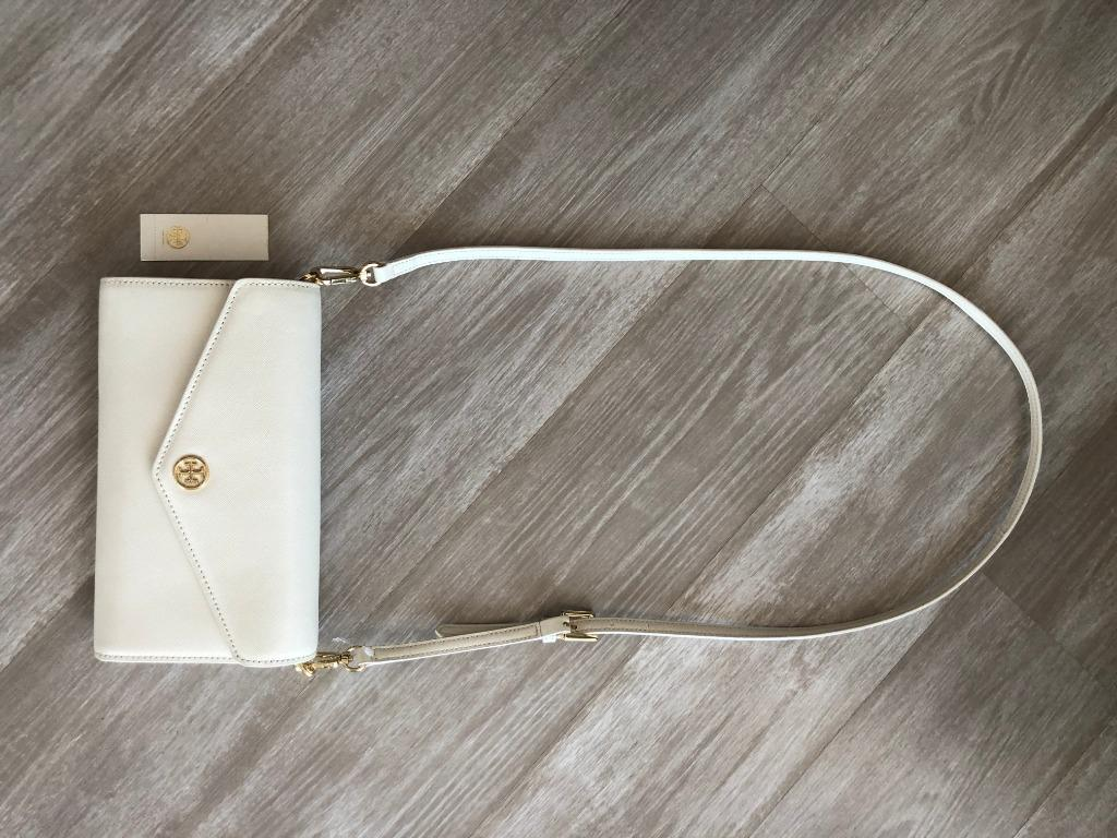 BRAND NEW Authentic TORY BURCH Leather Crossbody Wallet
