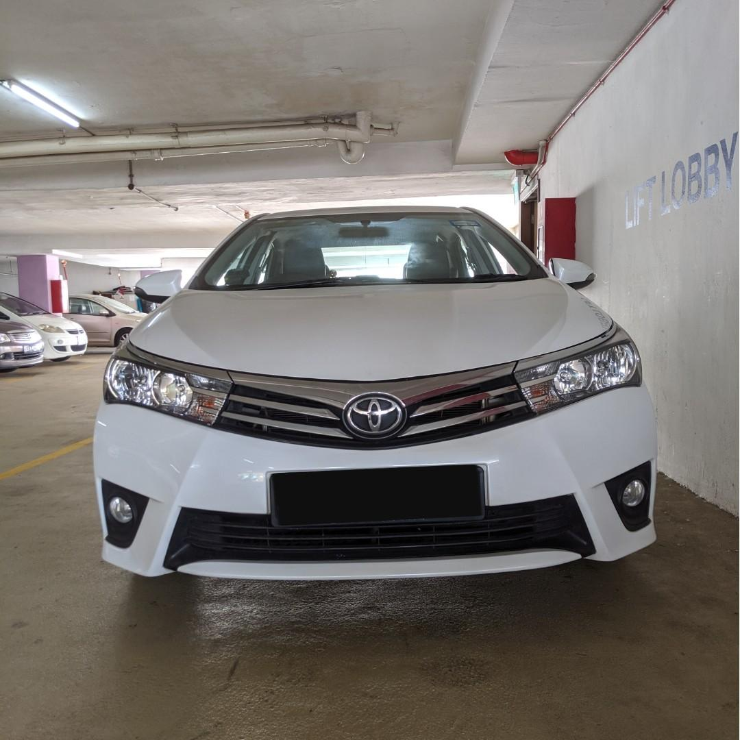 Toyota Altis (Car Rental for PHV / Personal Usage)