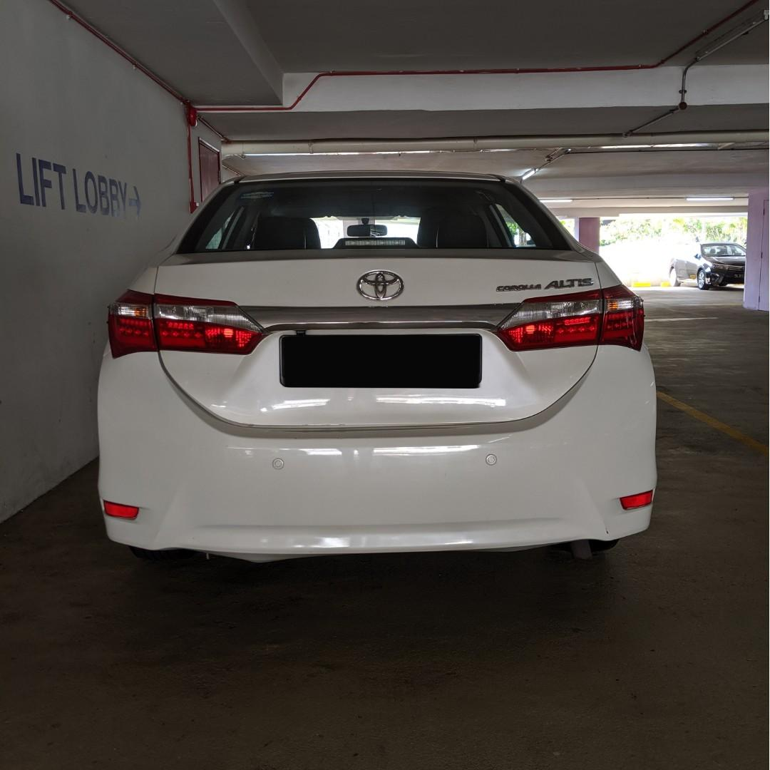 Toyota Altis (Car Rental for PHV / Personal Usage)