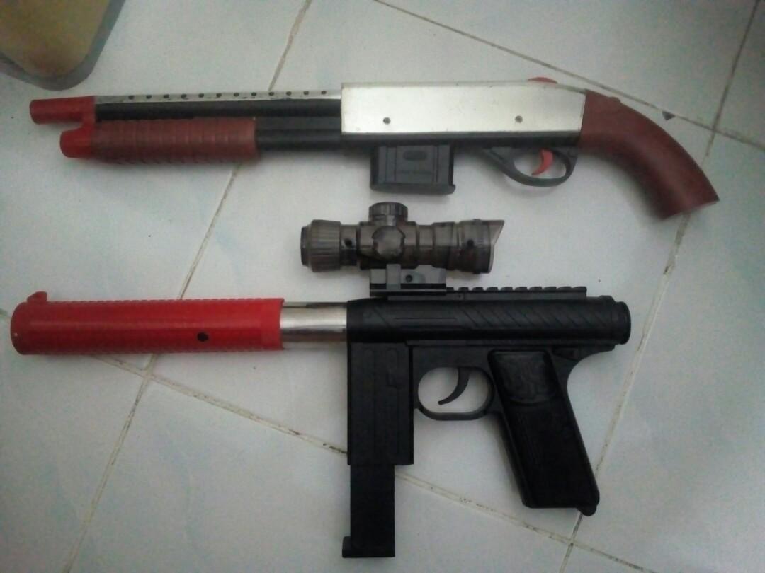 TWO BB BIG BB GUNS
