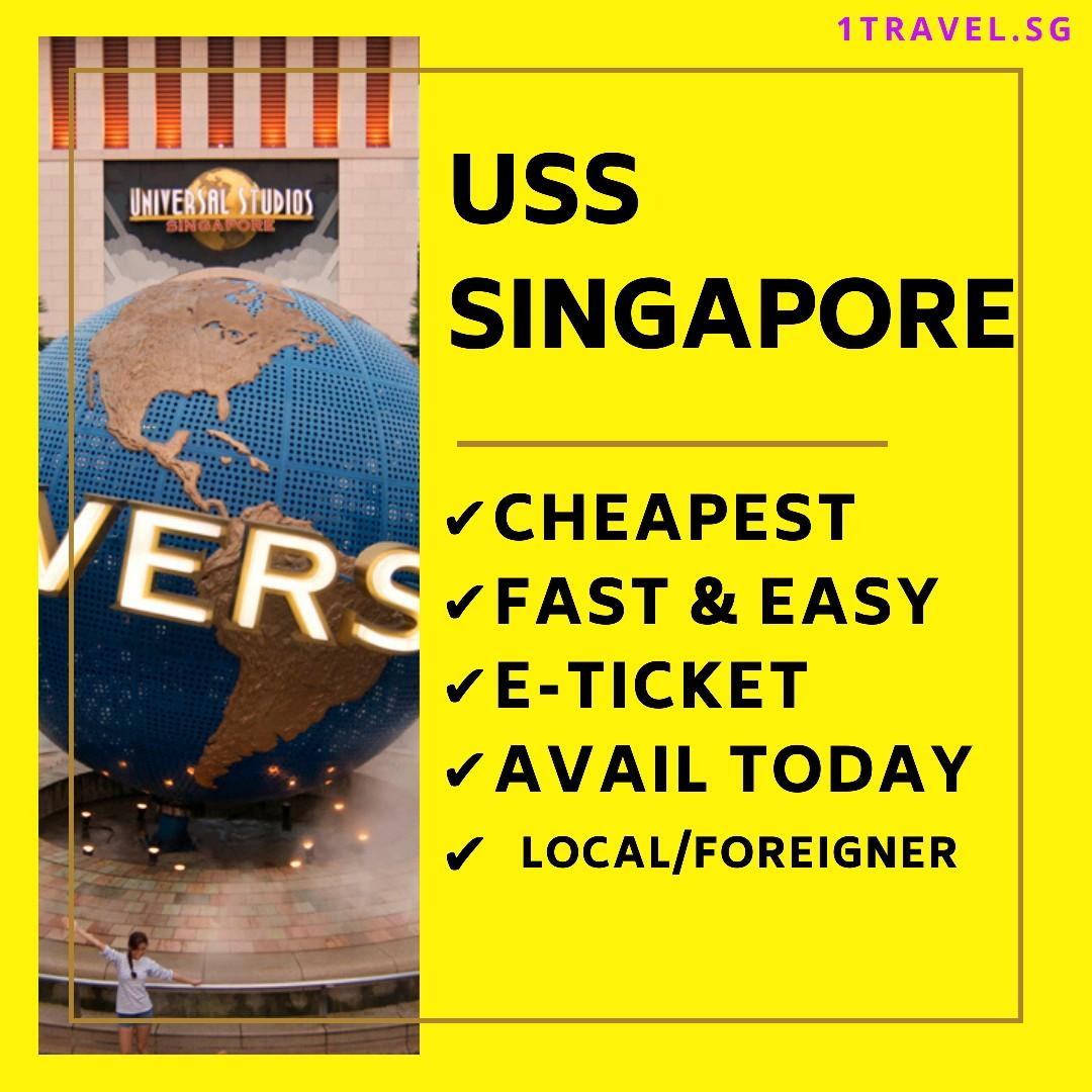 Universal Studios Singapore E-ticket / USS Tickets