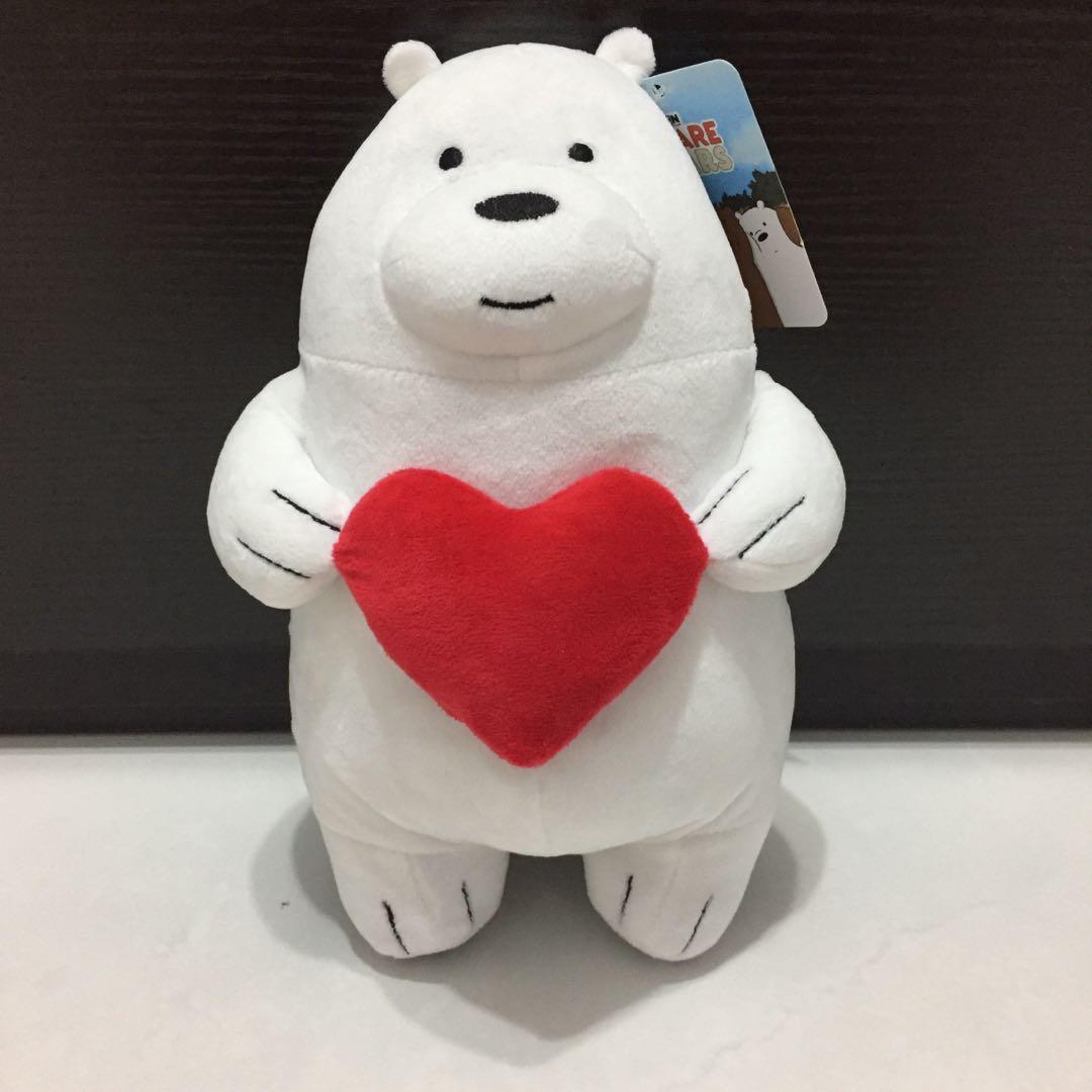 We Bare Bears Ice Bear with Heart