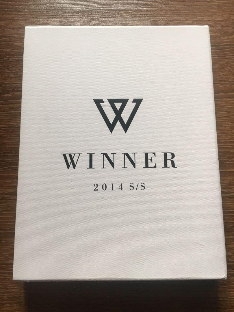 Winner S/S Collection Debut Album Limited Edition White Ver (Preloved)
