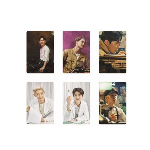 [WTS/PREORDER] EXO NATURE REPUBLIC GREEN DERMA PROMOTIONAL PHOTOCARD