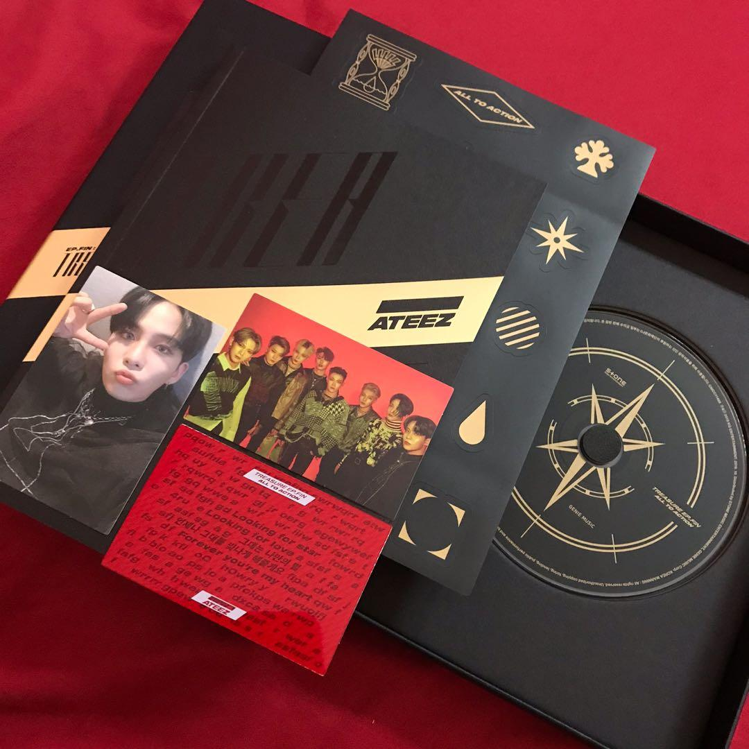 WTT [ JONGHO TO HONGJOONG ] ATEEZ EP FIN ALL TO ACTION