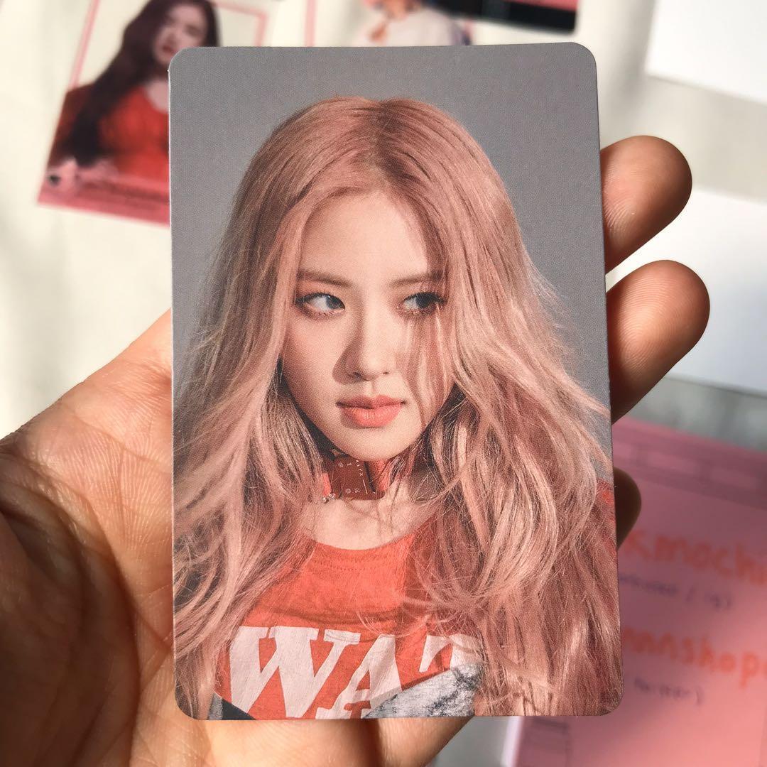 WTT rosé samsung galaxy friends official photocard