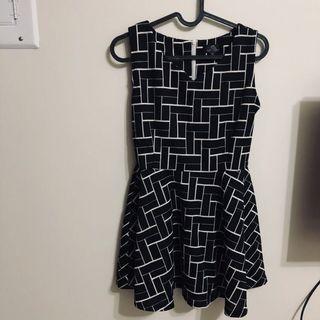 不規則圖洋裝
