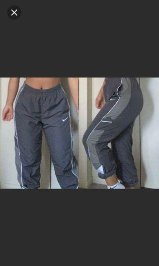 Nike Grey Windbreaker Pants